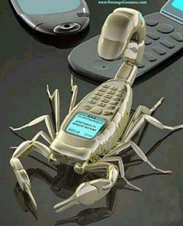 cell-phone-scorpion